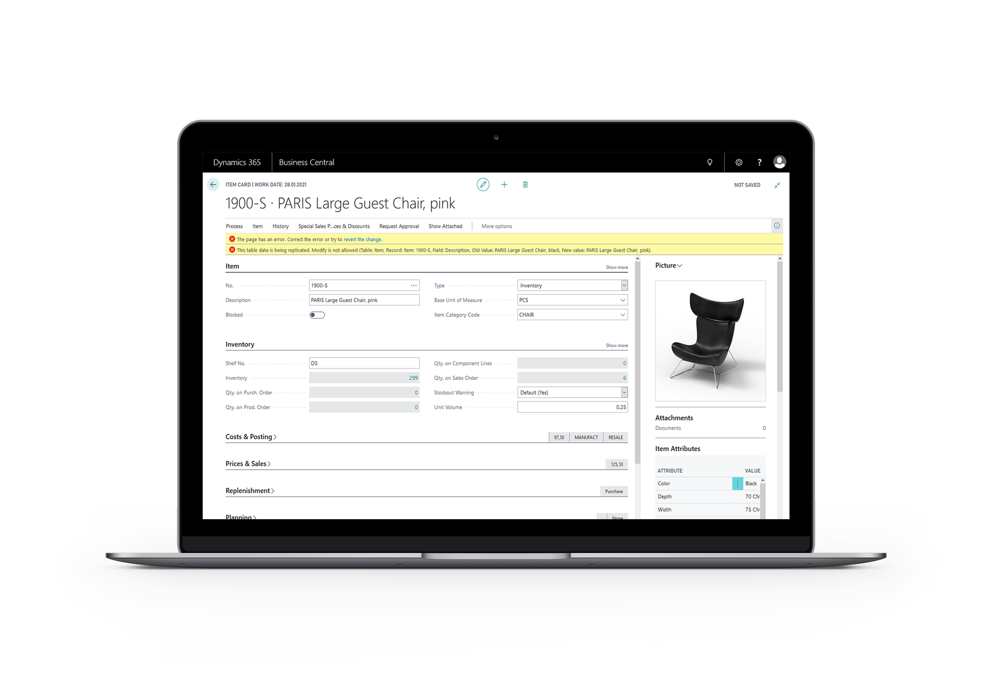 Dynamics 365 Business Central Apps